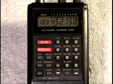 bearcat bc200xlt scanning receiver youtube rh youtube com