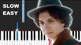 Anson Seabra - Broken (SLOW EASY PIANO TUTORIAL)