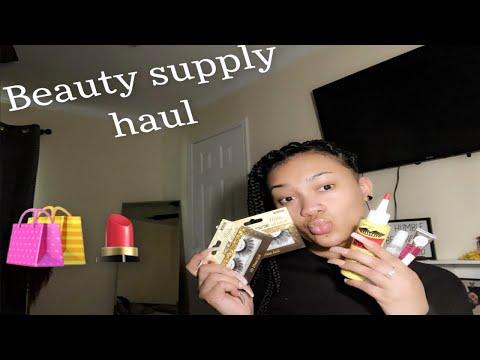 Beauty Supply HAUL ( Very Affordable) | Unique La'trese