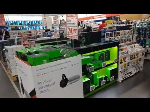Рождественские цены и скидки на бытовую технику в Германии. Супермаркет Media Markt