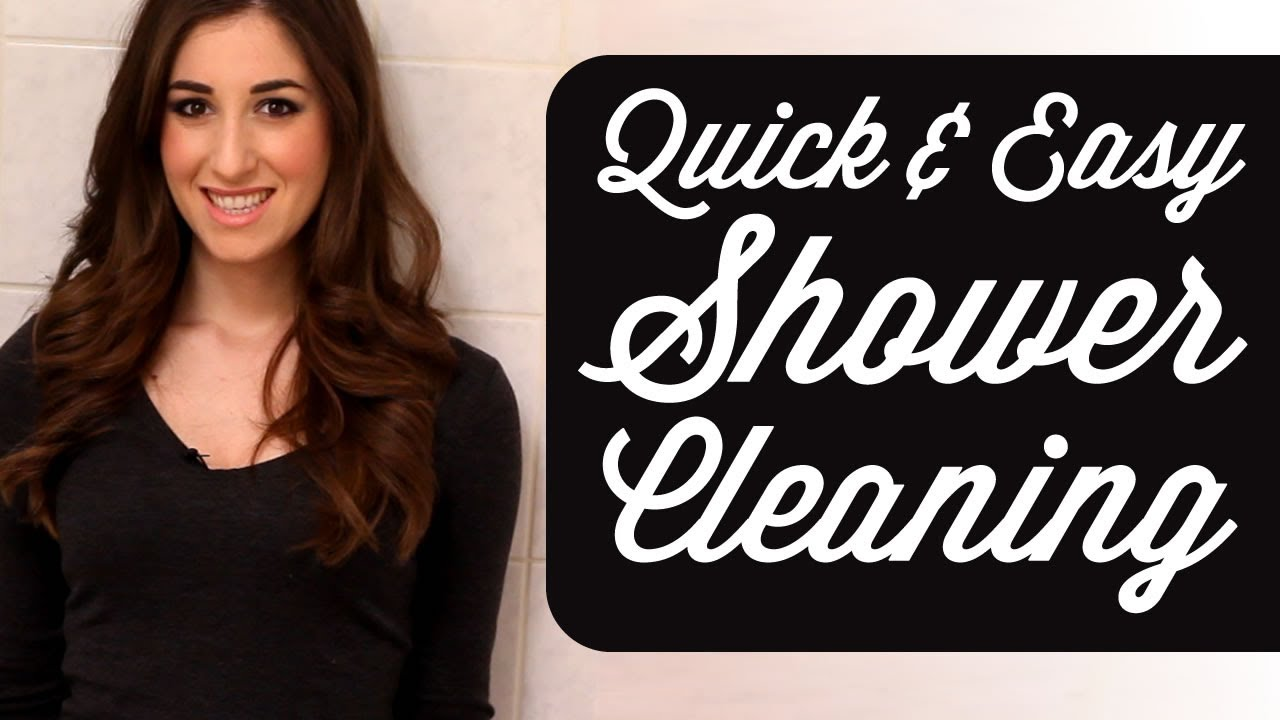 Quick   Easy Shower Cleaning Routine  How to Clean A Shower  Time     Quick   Easy Shower Cleaning Routine  How to Clean A Shower  Time Saving  Tips  Clean My Space   YouTube
