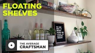 How to Make Floating Shelves (DIY)
