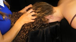 Try Not To Fall Asleep – Deep Relaxation Head & Scalp Massage w/ Intense Hair Sounds