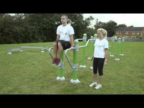 Outdoor Gym Equipment - FLZ Parallel Bars