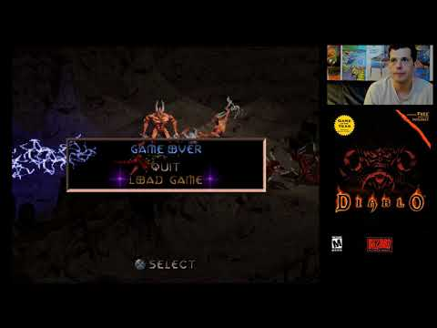 Diablo (PlayStation) Part 3 - Mike Matei live stream