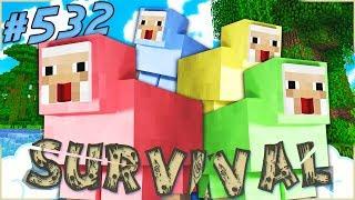 Farm Di Pecore Colorate Minecraft