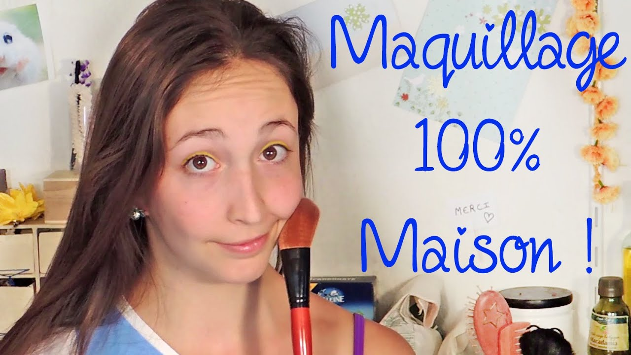 116 du maquillage 100 maison et naturel oui c 39 est possible youtube. Black Bedroom Furniture Sets. Home Design Ideas