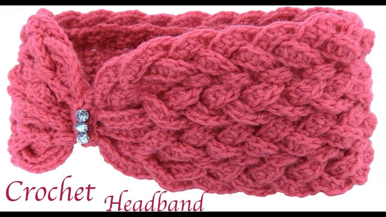 Diadema Mariposa Trenzada En 3d Tejida A Crochet Paso A Paso Tejido - Diadema-ganchillo