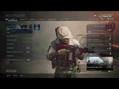 Modern Warfare How to Get to Hardcore Shipment 24/7 Playlist