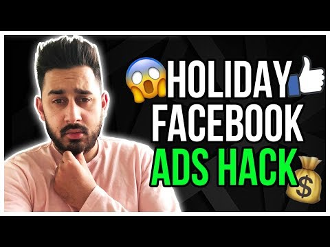 Facebook Ads Hack For Holidays - 2019 Dropshipping Trick