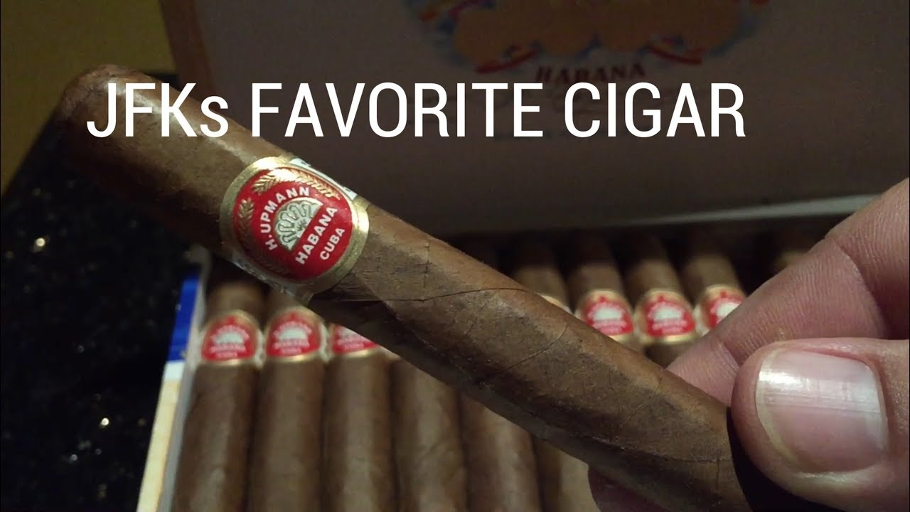 JFKs Favorite Cigar Cuban H Upmann John F Kennedy  YouTube
