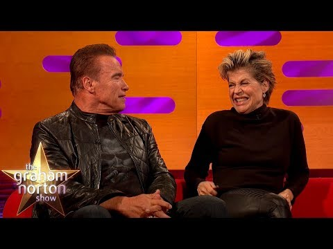 Arnold Schwarzenegger Finds Out Linda Hamilton Didn't Want To Work With Him   The Graham Norton Show