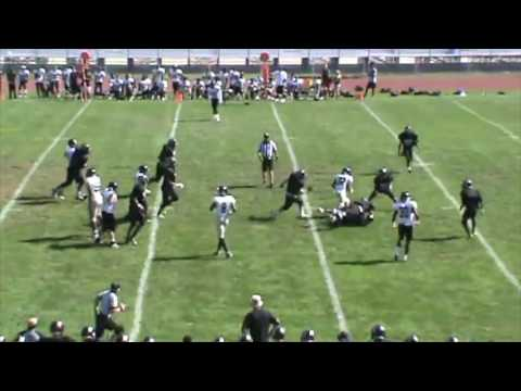 AARON PETERS SPARTANS FOOTBALL CLASS OF 2019 (SOPHOMORE HIGHLIGHTS)