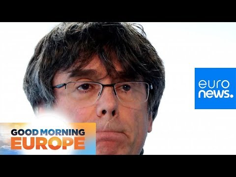 Euronews:Catalonia's Puigdemont risks arrest if he returns to Madrid to stand in EU Elections