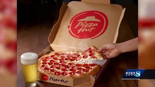 Pizza Hut to offer beer with pizza delivery in Iowa