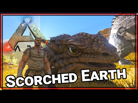 ★ Tame a thorny dragon - ARK Survival Evolved Scorched Earth single player - ARK Scorched Earth pt 4