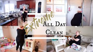 EXTREME ALL DAY CLEAN / REALISTIC DAY OF CLEANING / Heather McCarthy