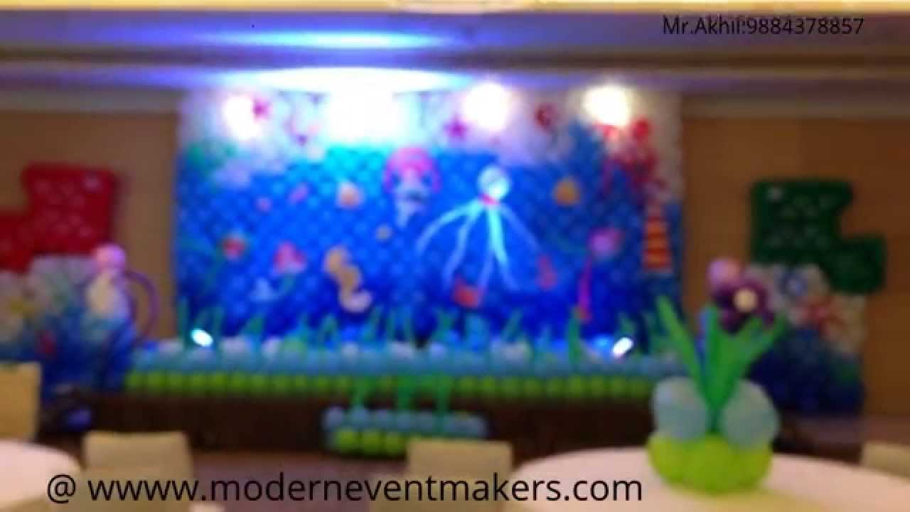 Underwater Theme Party Decorations