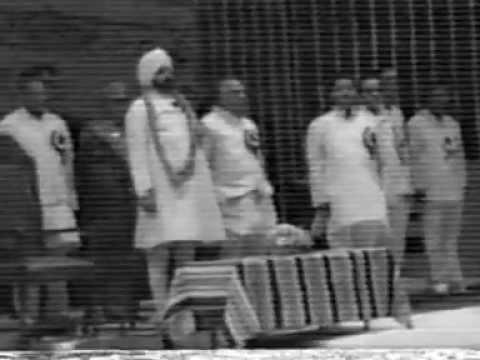 President Of India Giani Zail Singh Giving Award To Pramod Soni