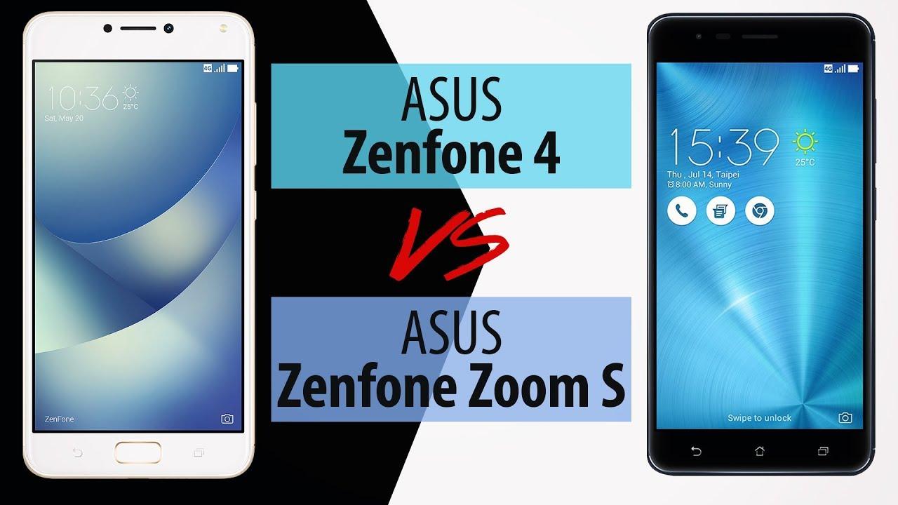 ASUS Zenfone 4 vs ASUS Zenfone Zoom S – Porównanie Smartfonów