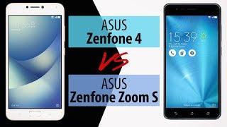 ASUS Zenfone 4 vs ASUS Zenfone Zoom S - Porównanie Smartfonów