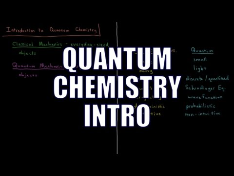 Quantum Chemistry 0.1 - Introduction
