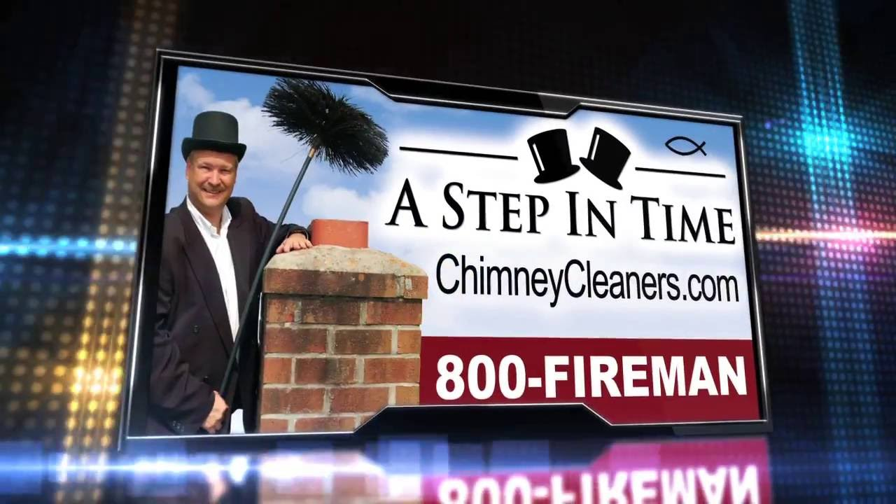 A Step In Time Chimney Sweep Commercial Trailer