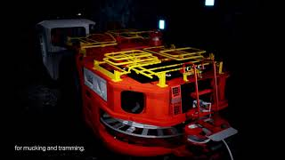 TORO LH514BE with AutoMine | Sandvik Mining and Rock Solutions