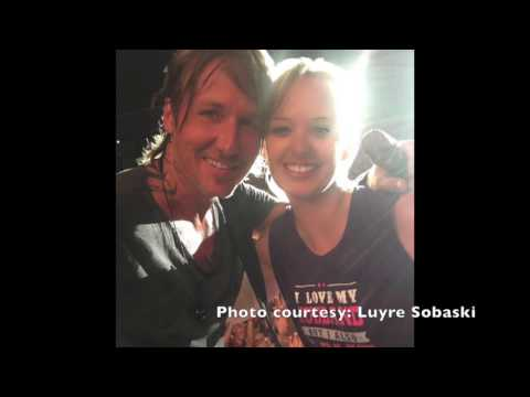 Keith Urban Facetimes Concert Goers Husband on Stage