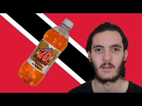 Trying Trinidadian Drinks