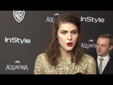Alexandra Daddario: Exclusive Interview at WB/InStlye After Party (2016)