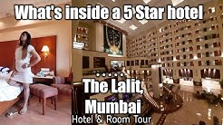 The Lalit, Mumbai | 5 Star Hotel Room Tour | Most Luxurious Five Star Hotel In Mumbai