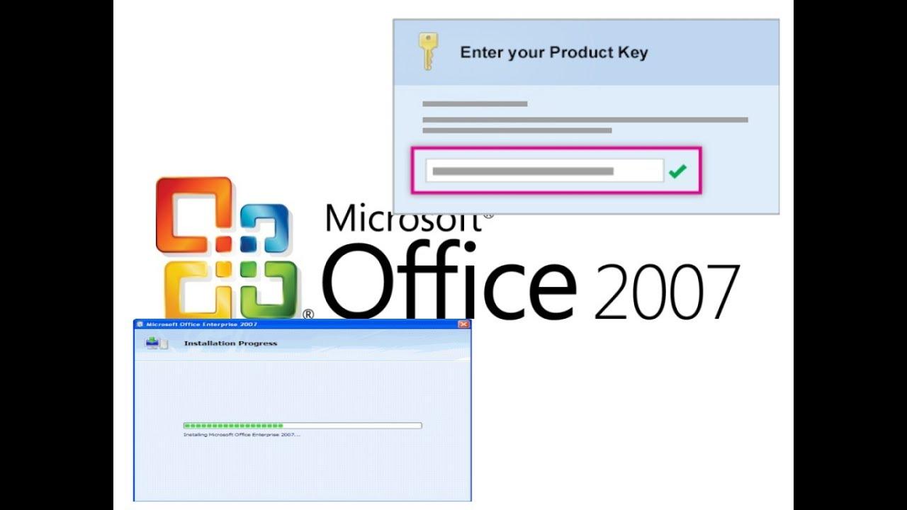 microsoft office enterprises 2007 product key