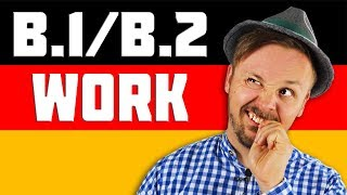 Learn German Course B1-B2 | Everyday Phrases For Life In Germany | At Work | Get Germanized #2