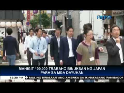 Japan offers more than 100,000 jobs for foreigners; Filipinos in priority list