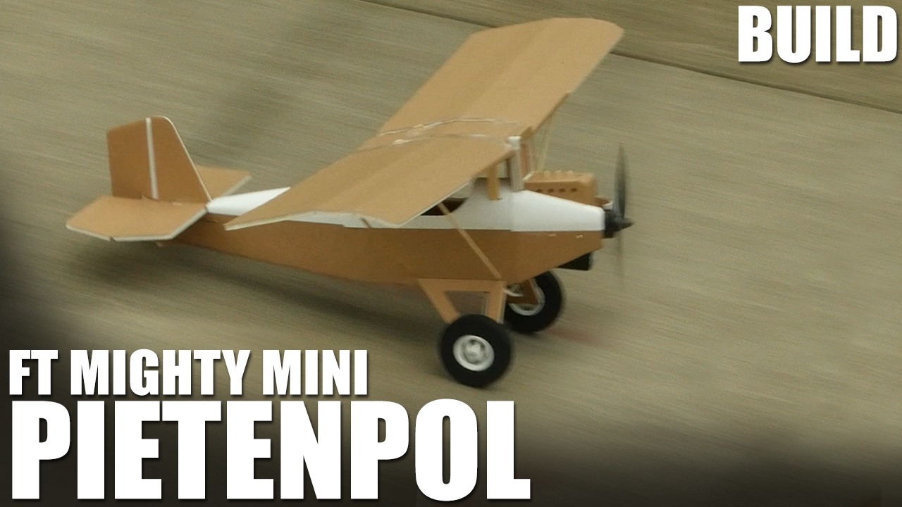 Self-Construction Aircraft Pietenpol, Mighty Mini Serie by Flite Test