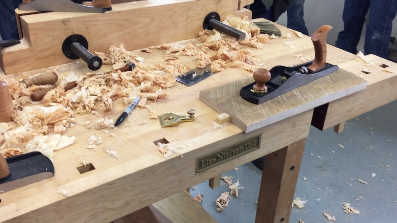 Lie Nielsen Hand Tool Event Chicago School Of Woodworking 2017