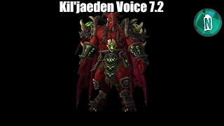 Kil'jaeden Voice in Wow Legion patch 7.2 The Tomb of Sargeras