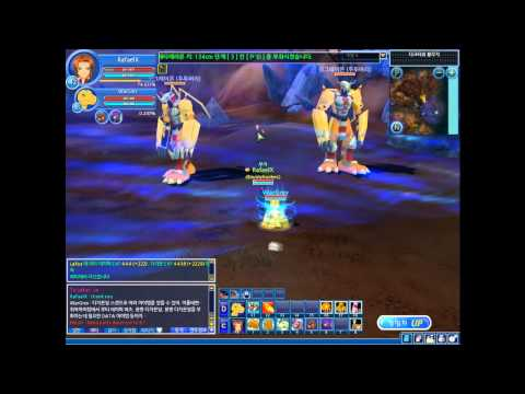 Digimon Masters Online   Up to lvl 65 And Unlock VictoryGreymon!