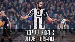 60 years of juventus vs napoli goals!
