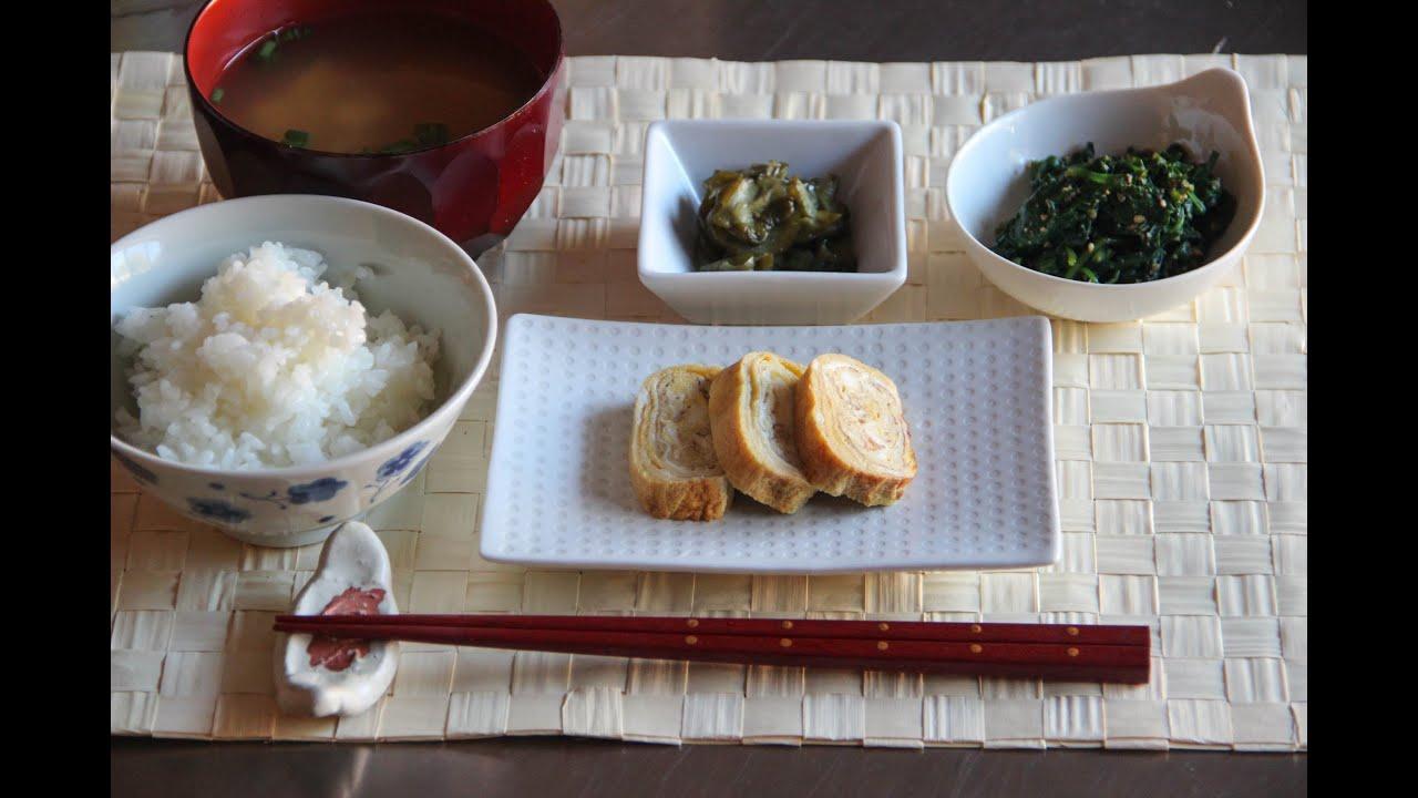 Breakfast menu 1 japanese cooking 101 youtube forumfinder Gallery