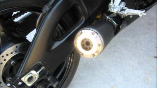 Suzuki GSXR Exhaust MP3 Audio XB Extremeblaster with Sound Arrester 2005 2006