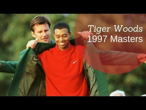 Tiger Woods Amazing Shots | 1997 Masters |