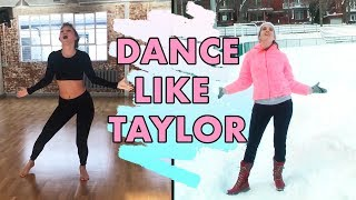I Danced Taylor Swift's Delicate Dance Rehearsal!
