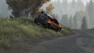 Ma premiere sur WRC je casse le moteur