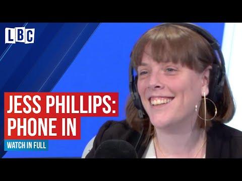 Labour Leadership Hopeful Jess Phillips Grilled By LBC Listeners | James O'Brien