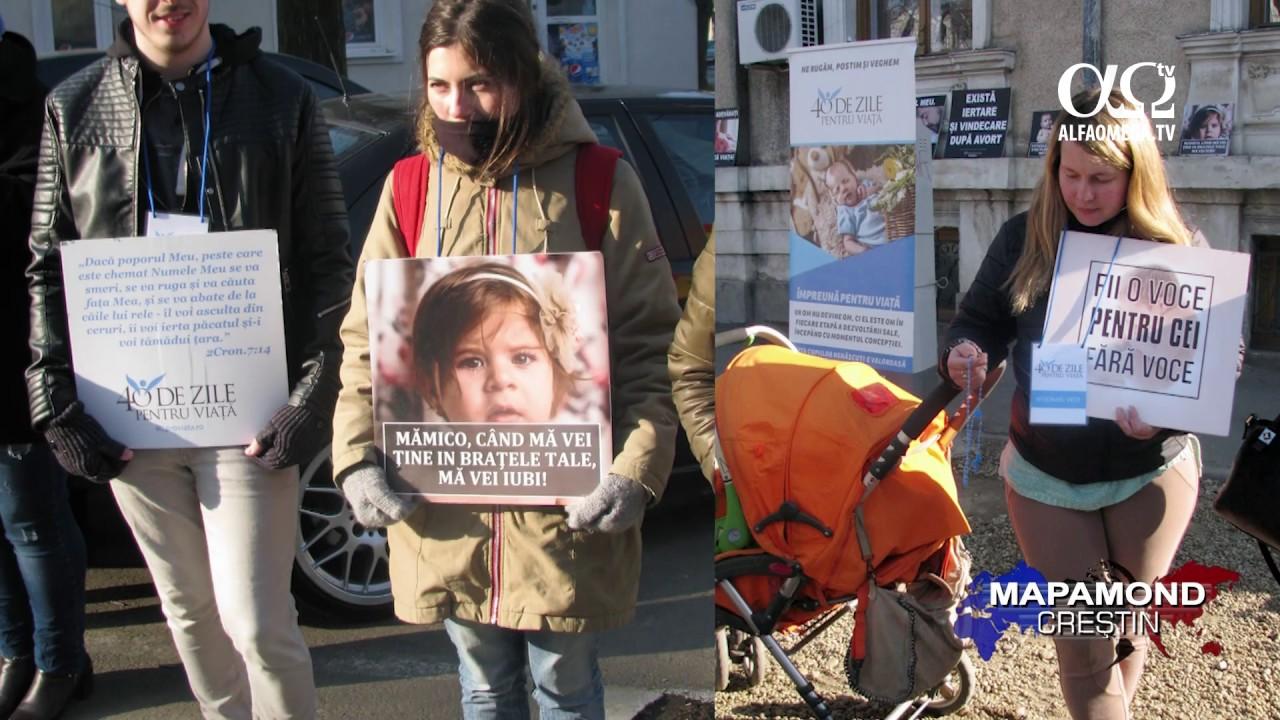 Campania 40 de zile pentru viata - O voce pentru cei fara voce!