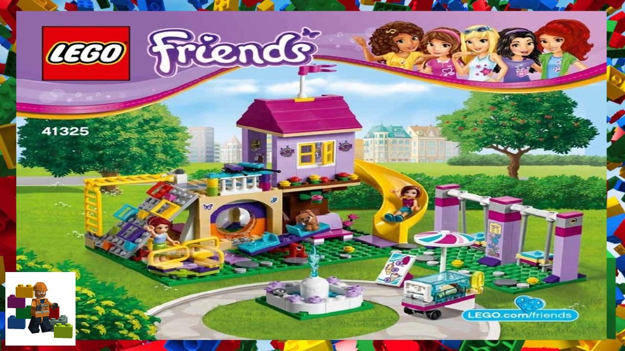 Lego Instructions Friends 41325 Heartlake City Playground