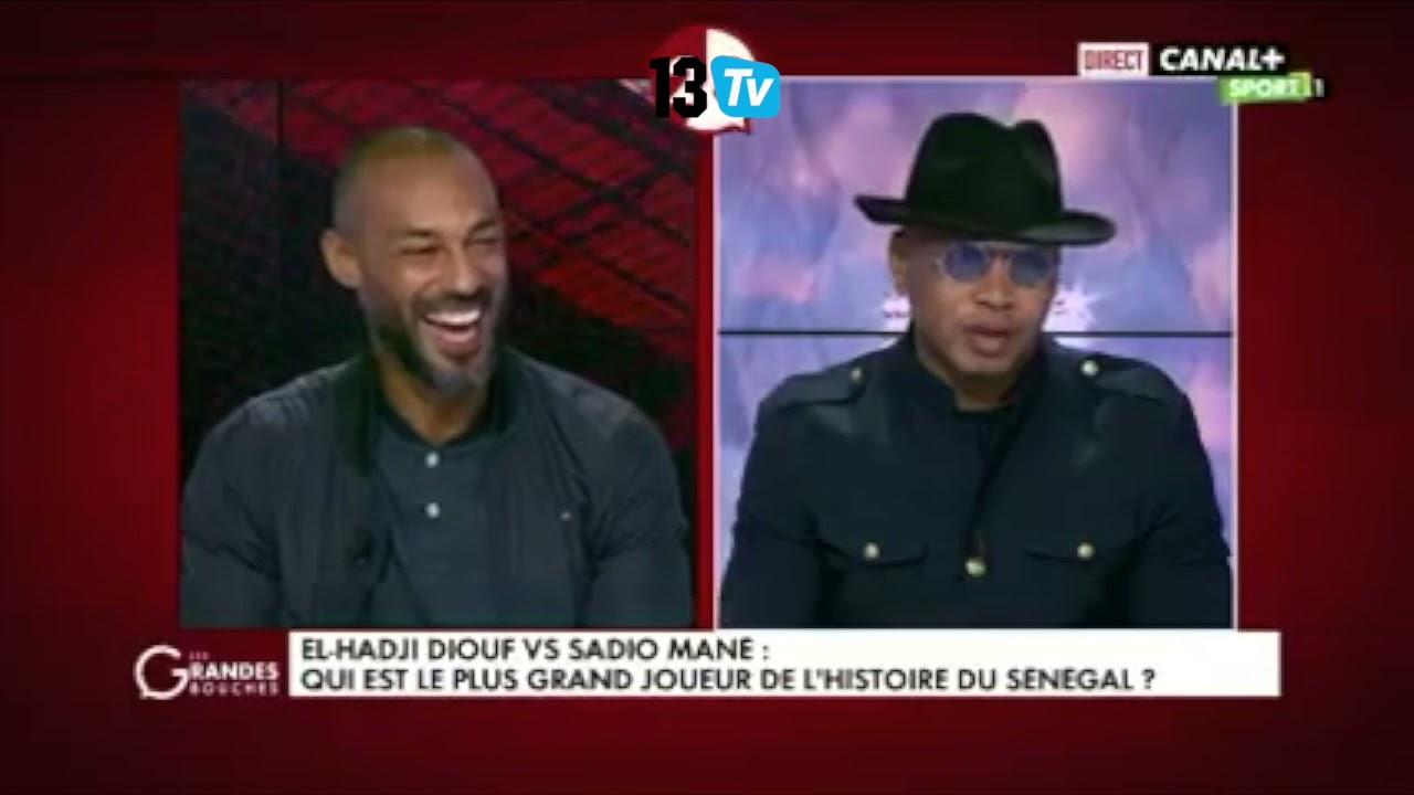 El hadj Diouf-Sadio Mané: Qui est le meilleur? La réponse de Dioufy ne devrait pas vous surprendre!