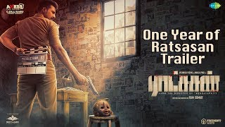 Celebrating One Year of Ratsasan Trailer Vishnu Vishal Amala Paul Ghibran Ramkumar